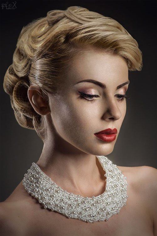 The Best Old Fashioned Updos Hair Style And Color For Woman Pictures