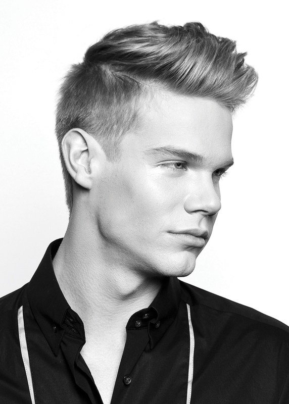 The Best Mens Haircuts Short Back And Sides Long On Top Pictures
