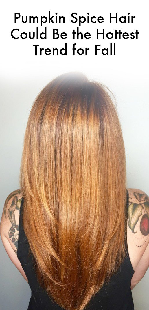 The Best Pumpkin Spice Hair Color Is Apparently A Thing Instyle Com Pictures