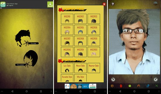 The Best 3 Best Free Android Apps To Try Different Hairstyles Pictures