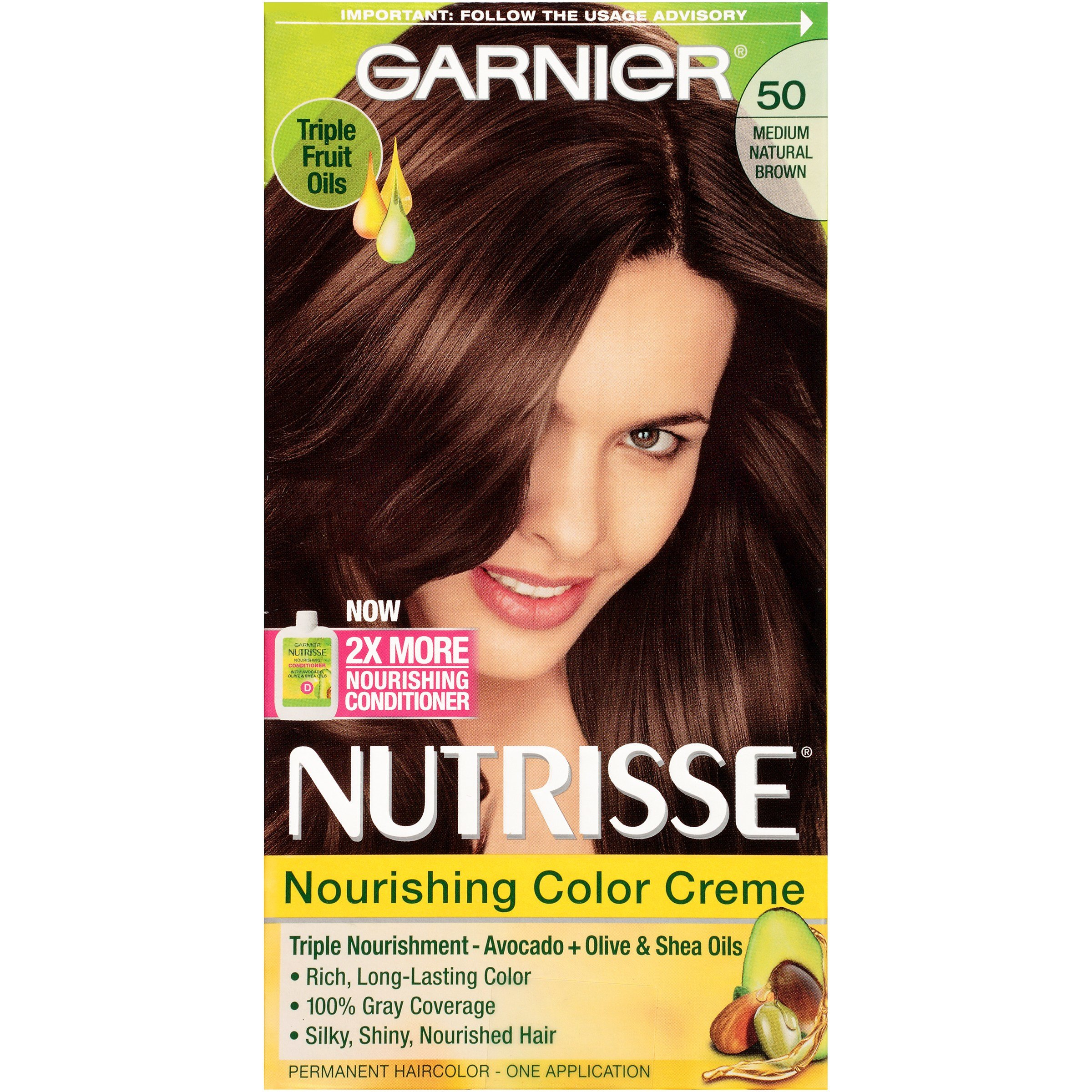 The Best Nutrisse® 50 Medium Natural Brown Truffle Nourishing Color Creme 1 Kt Box Beauty Hair Care Pictures