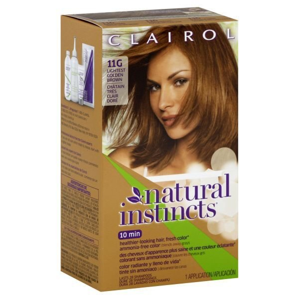 The Best Clairol Clairol Natural Instincts 11G Amber Shimmer Pictures