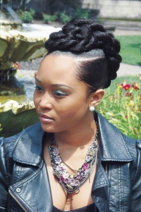 The Best Black Braided Updo Hairstyles Pictures