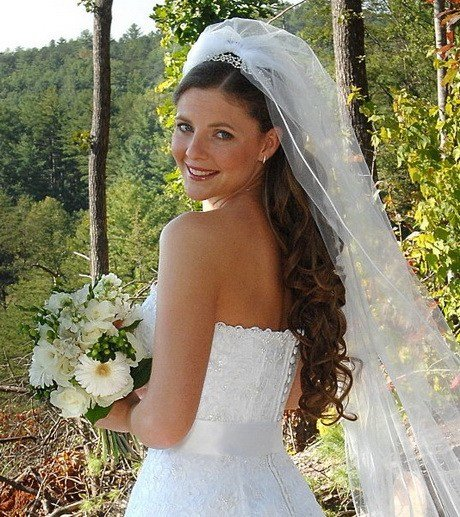 The Best Bridal Hairstyles With Veil Pictures