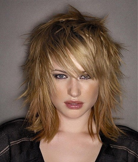 The Best Funky Medium Length Haircuts Pictures