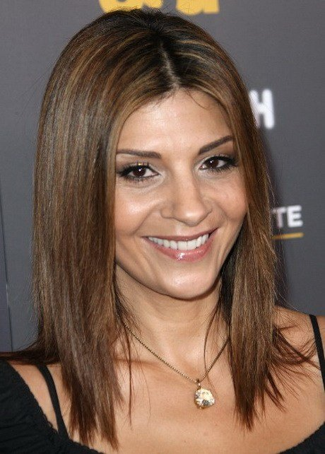 The Best Hairstyles For Shoulder Length Straight Hair Pictures