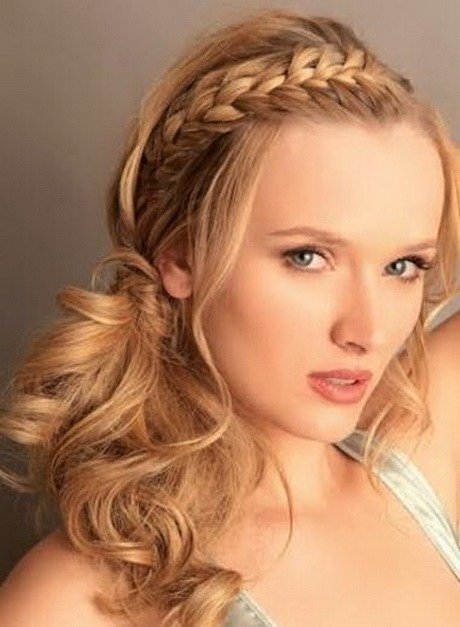 The Best Hairstyles With Braids And Curls Pictures