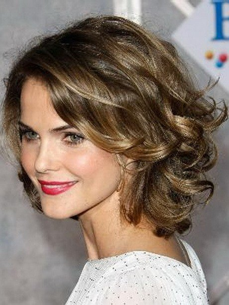 The Best Medium Curly Hairstyles For Round Faces Pictures