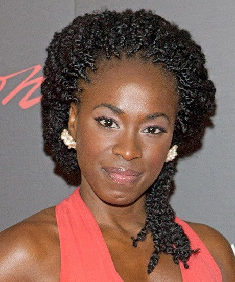 The Best Natural Twist Hairstyles For Black Women Pictures