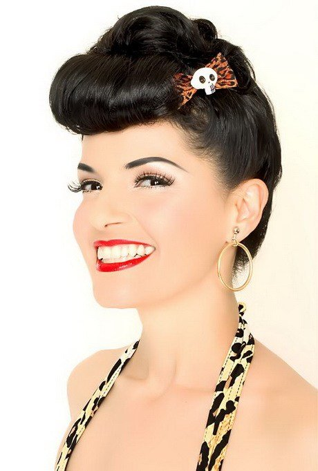 The Best Pin Up Girl Hairstyles For Short Hair Pictures