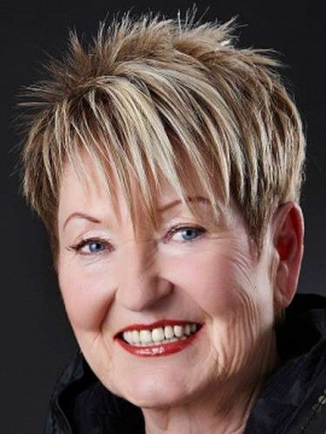 The Best Very Short Haircuts For Women Over 60 Pictures