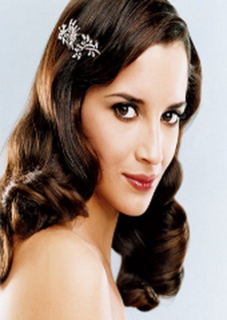 The Best Vintage Wedding Hairstyles For Long Hair Pictures