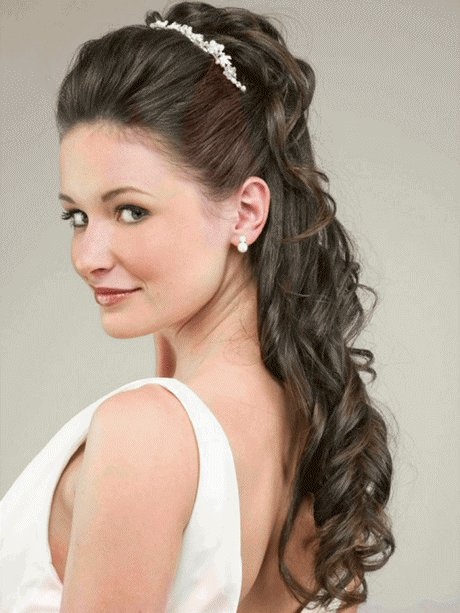 The Best Wedding Day Hairstyles For Long Hair Pictures