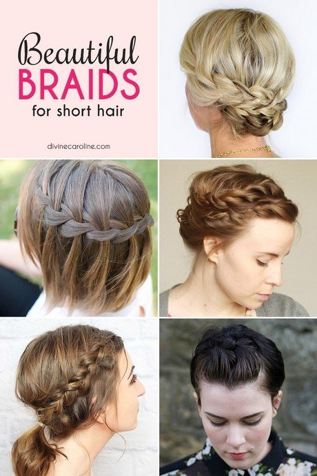 The Best Easy Braided Hairstyles For Short Hair Pictures