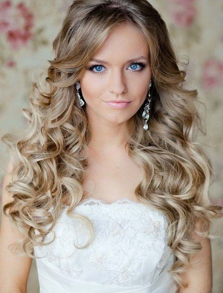 The Best Hairstyles For Long Hair Wedding Party Pictures