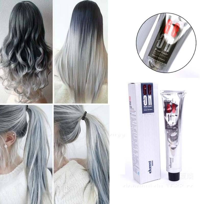 The Best Hair Color Cream Light Gray Hair Cream Permanent Easy Temporary Diy Super Dye Charming Light Pictures