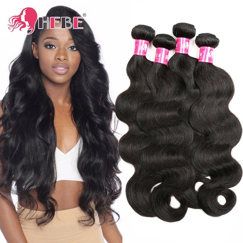 The Best Peruvian V*Rg*N Hair Body Wave 4 Bundles H*B* Unprocessed Pictures