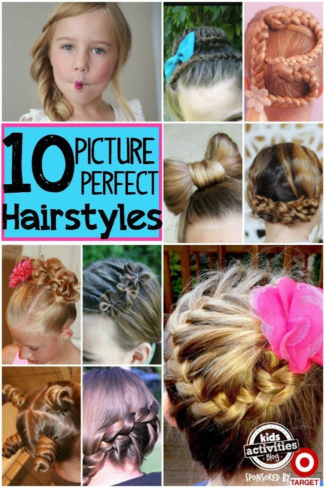 The Best 10 Picture Day Hairstyles For Girls Pictures