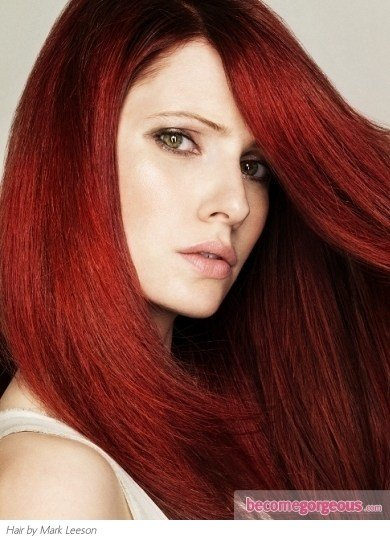 The Best Pictures Red Hair Color Shades Light Burgundy Red Hair Pictures