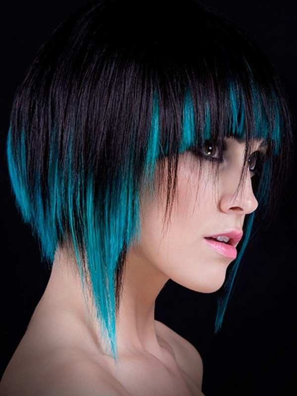 The Best Colored Hair Highlights Ideas Pictures