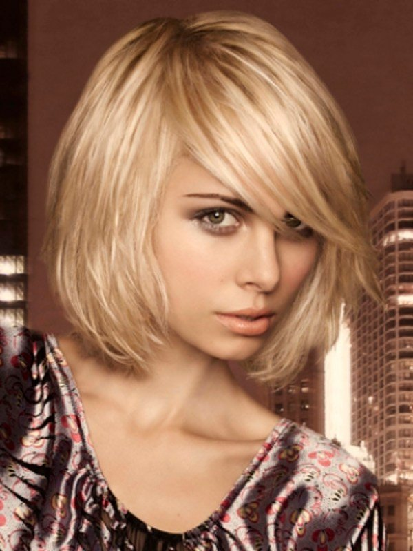The Best Easy To Style Medium Haircut Ideas 2012 Pictures