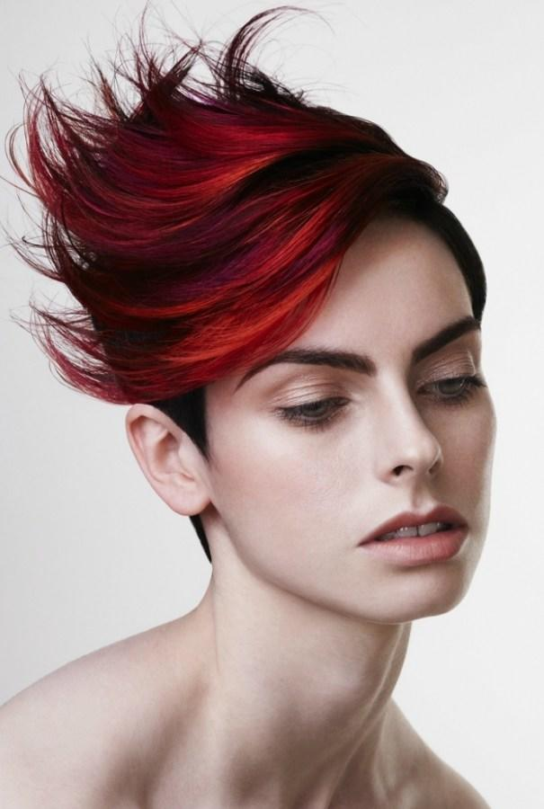 The Best Punk Chic Hair Color Ideas 2012 Pictures