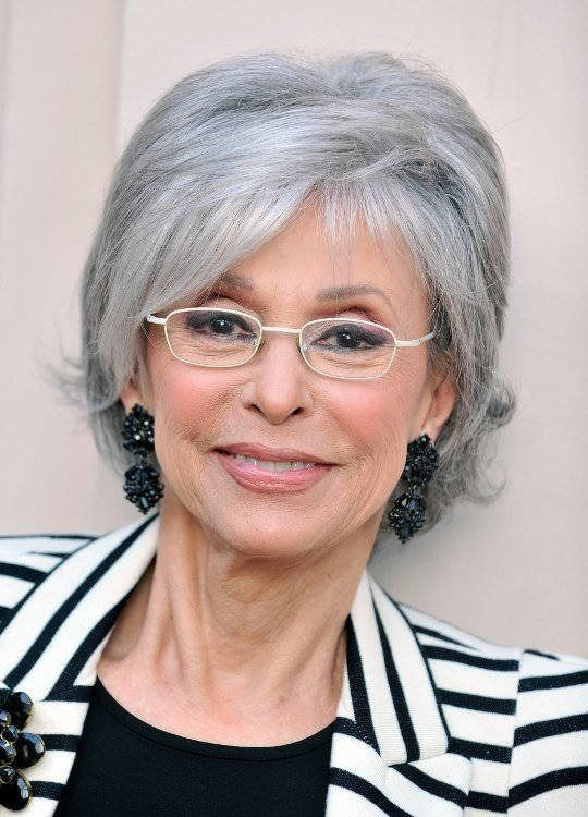 The Best Short Hairstyles For Grey Hair Pictures