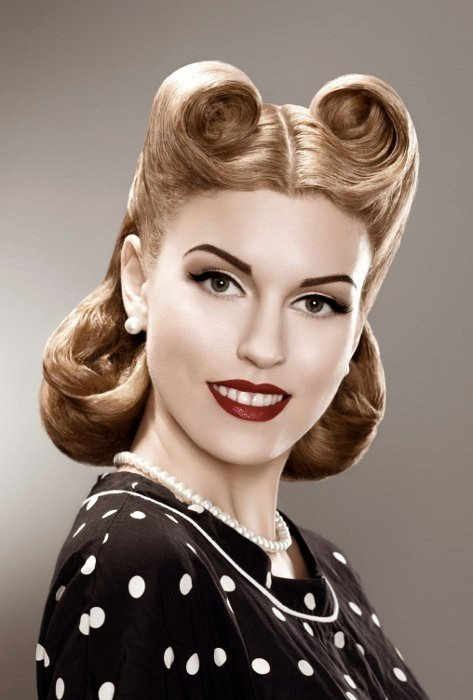 The Best 50S Hairstyles Short Pin Up Hairstyles Pictures