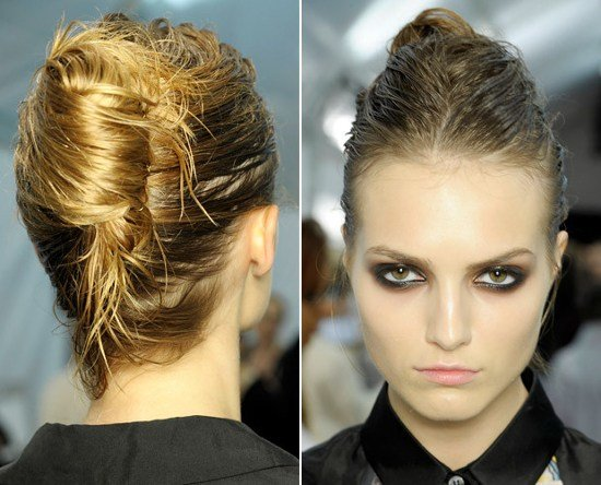 The Best Hairstyles For Wet Hair How To Style Damp Hair Pictures