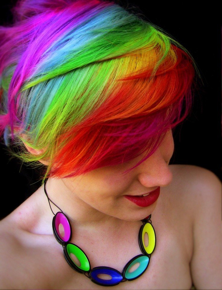 The Best Rainbow Hair – Strayhair Pictures