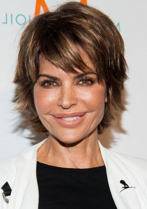 The Best Lisa Rinna Layered Razor Cut For Women Over 40 Styles Weekly Pictures