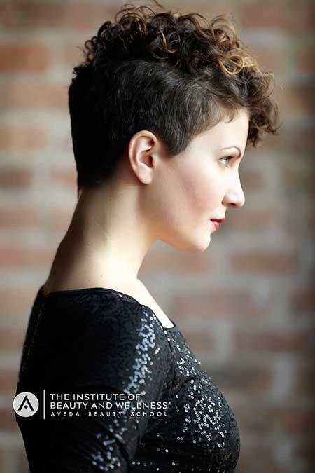 The Best 25 Lively Short Haircuts For Curly Hair – Short Wavy Curly Pictures