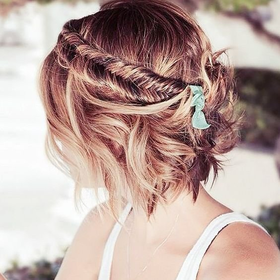 The Best 16 Beautiful Short Braided Hairstyles For Spring Styles Pictures