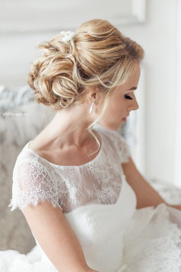 The Best Elegant Wedding Hairstyles Part Ii Bridal Updos Tulle Chantilly Wedding Blog Pictures
