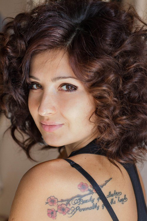 The Best 25 Addictive Short Curly Hairstyles For Women Creativefan Pictures