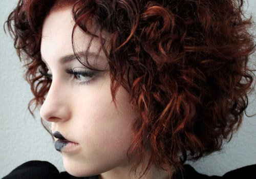 The Best 27 Sweet Hairstyles For Short Curly Hair Creativefan Pictures