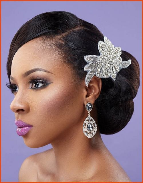 The Best 5 Tremendous Natural Wavy Wedding Hairstyles For Black Pictures