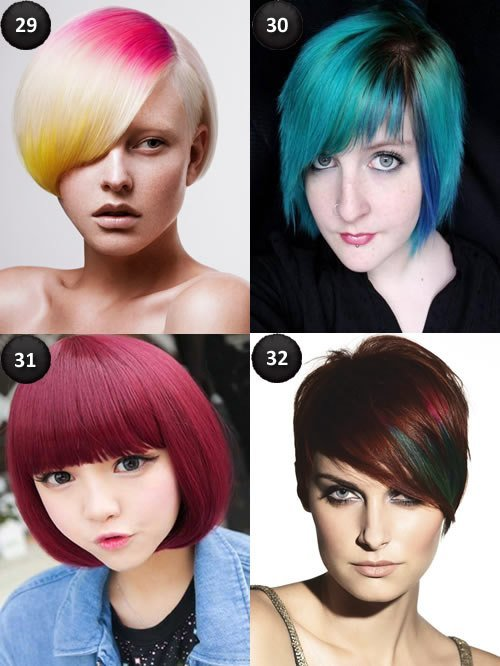 The Best Cool Colors For Short Hair – Circletrest Pictures