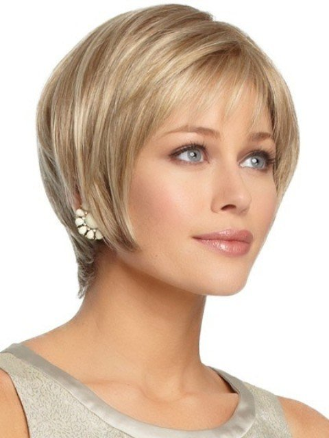 The Best 15 Breathtaking Short Hairstyles For Oval Faces – With Curls Bangs – Circletrest Pictures