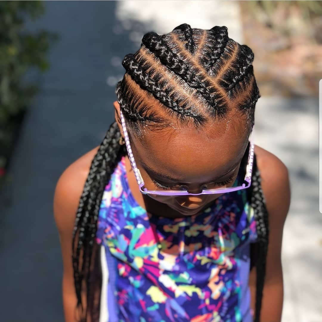 The Best Braided Hairstyles For Kids 43 Hairstyles For Black Girls Click042 Pictures