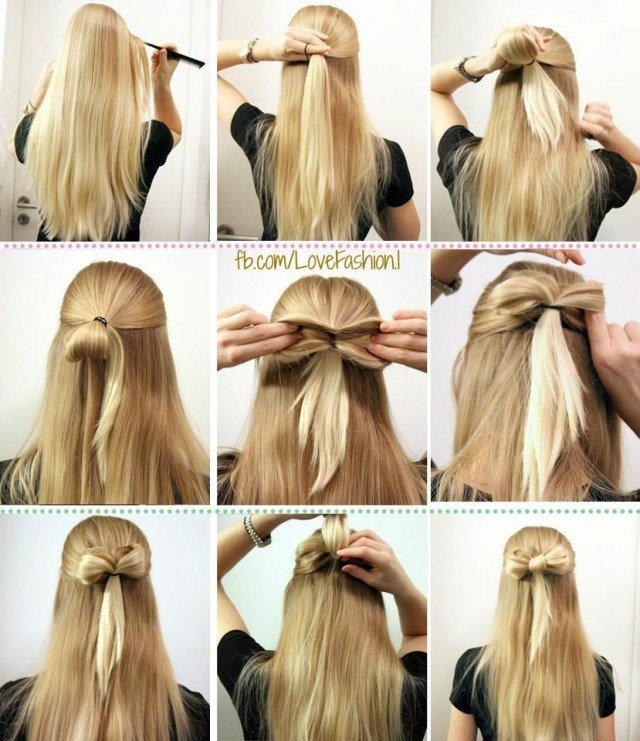 The Best How To Make A Bow Hairstyle Pictures