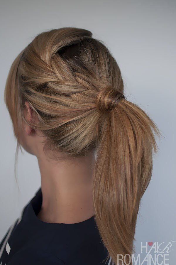 The Best Easy Braided Ponytail Hairstyle How To Hair Romance Pictures