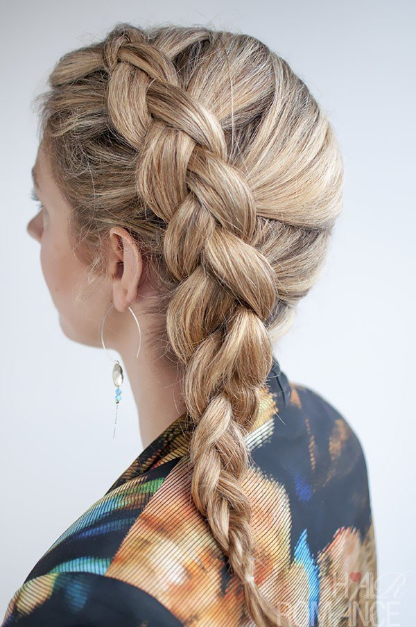 The Best How To French Braid Your Own Hair Beautydiagrams Pictures