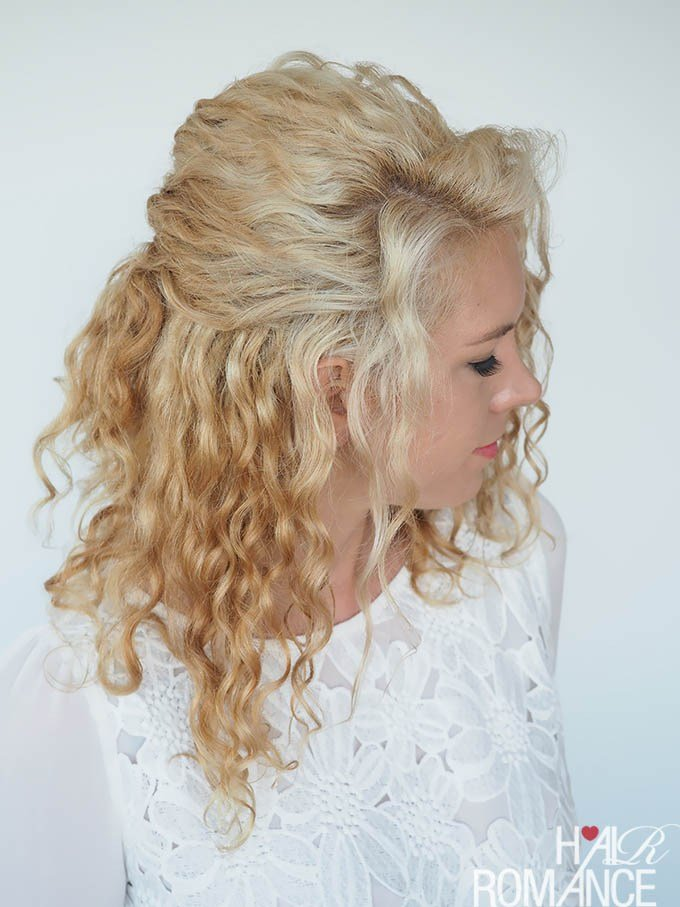 The Best 30 Curly Hairstyles In 30 Days – Day 6 Hair Romance Pictures