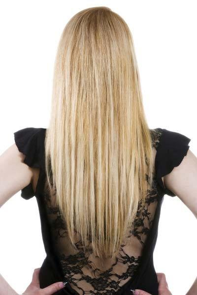 The Best Long Hairstyles U Shaped V Shaped Or Straight Across Back Pictures