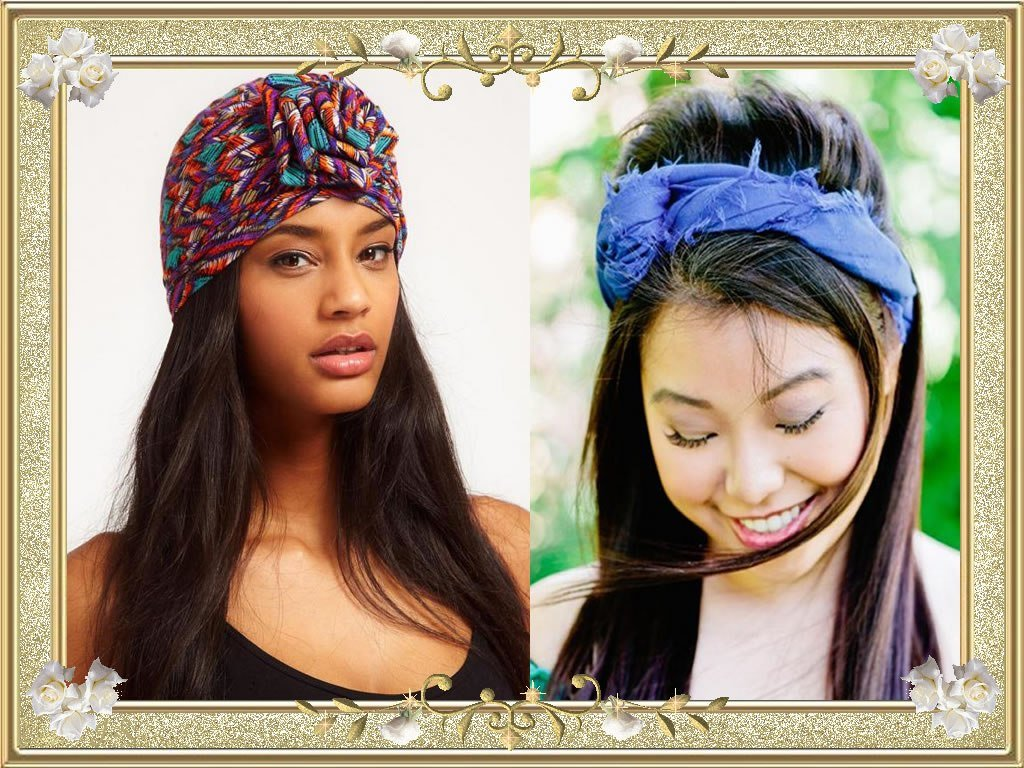 The Best Bandana Hairstyles For Long Hair Hairstyles By Unixcode Pictures