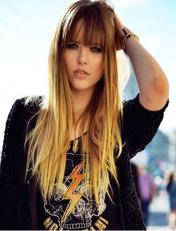 The Best Front Fringe Hairstyles 100 Cute Inspiration Hairstyles Pictures