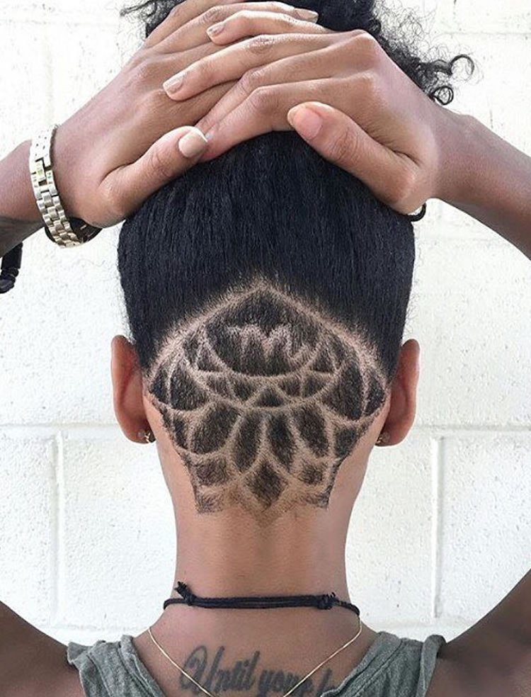 The Best Undercut Styles For Black Women Pictures