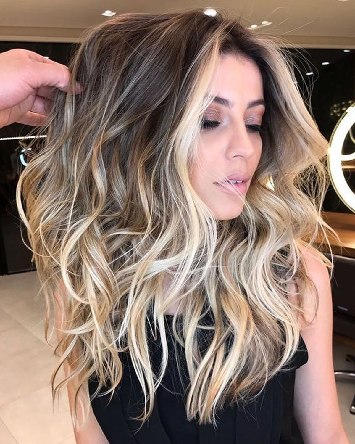 The Best 2018 Balayage Hairstyles For Long Hair – Balayage Hair Pictures