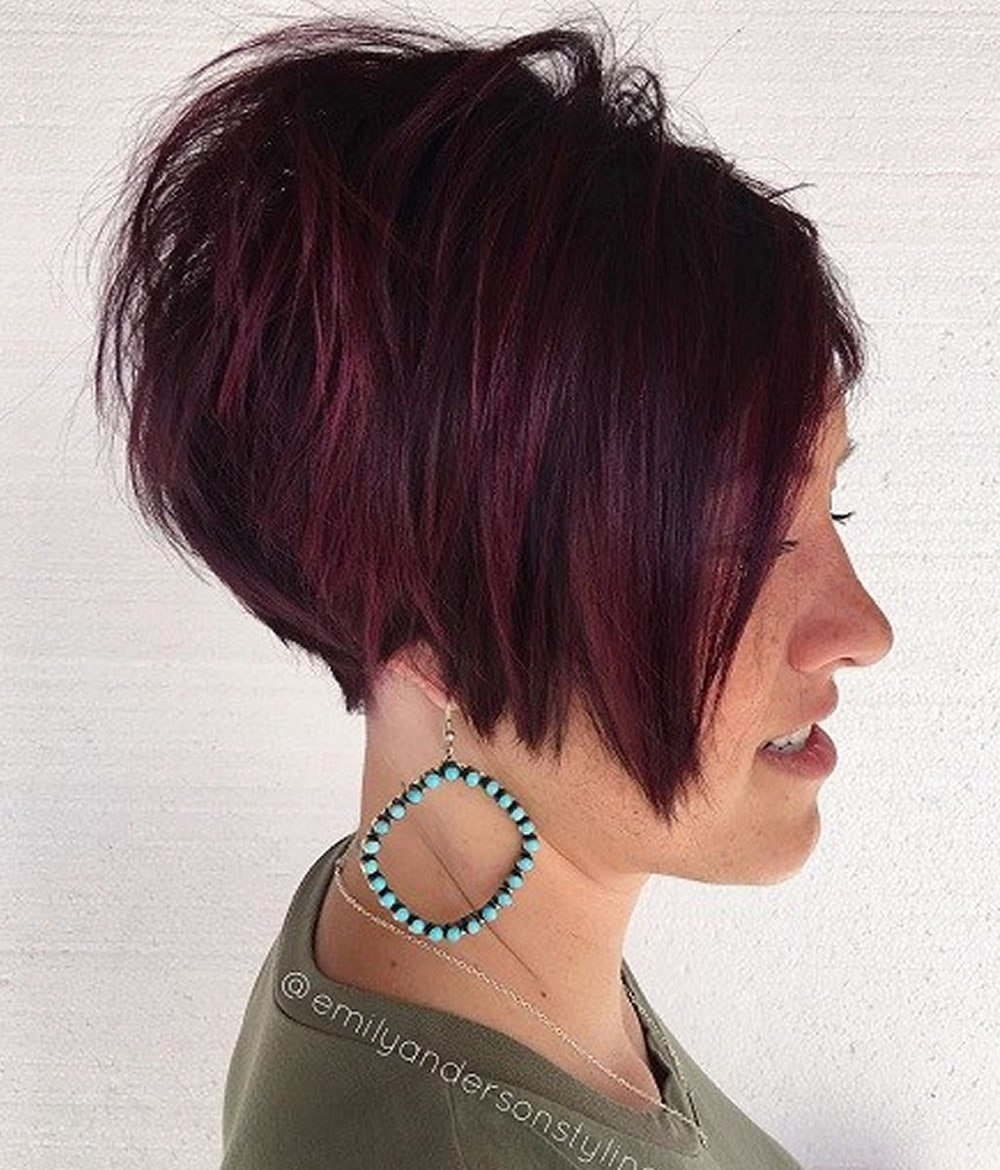 The Best Overwhelming Short Choppy Haircuts For 2018 2019 Bob Pictures